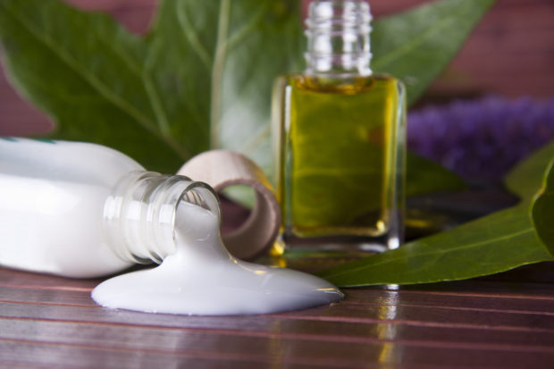 crema y cosmticos naturales