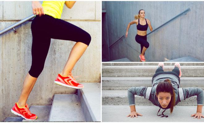 Los mejores ejercicios con la escalera de tu casa