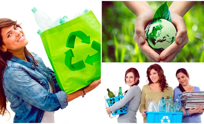 Cuida al planeta, recicla un poco