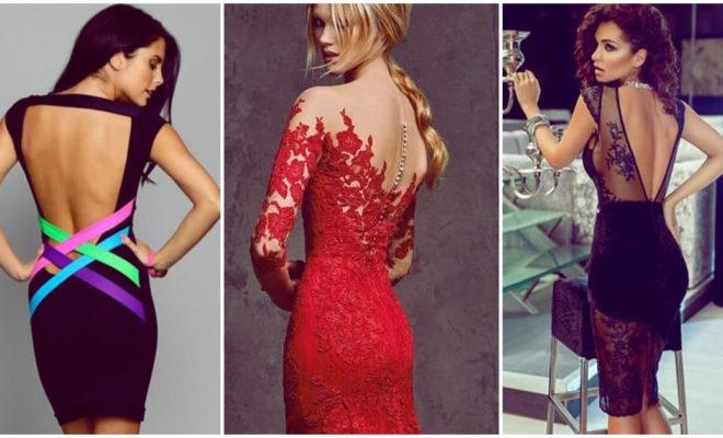 Cómo escoger un vestido con escote en la espalda
