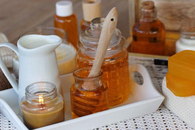 Pflege mit Honig