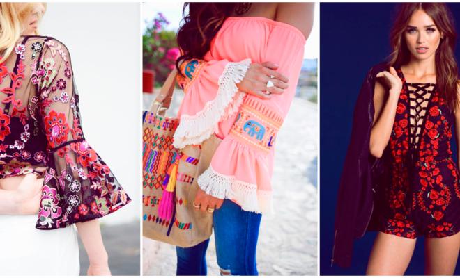 Cómo integrar bordados a tu outfit