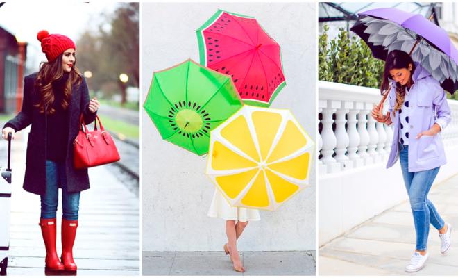Los accesorios para lluvia que necesita tu guardarropa