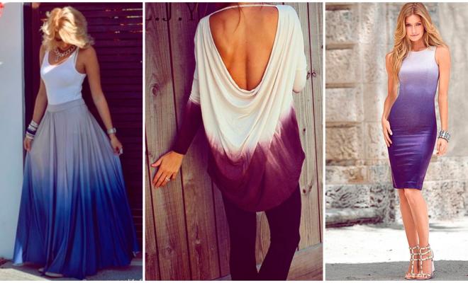 Las 5 prendas en degradado que necesitas para estar a la moda