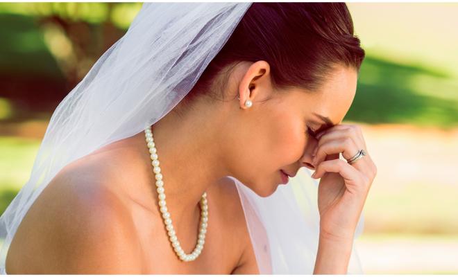 ¿Estás enamorada de tu boda … o de él?