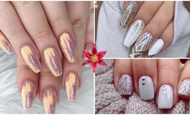 Los mejores diseños con glitter para las uñas