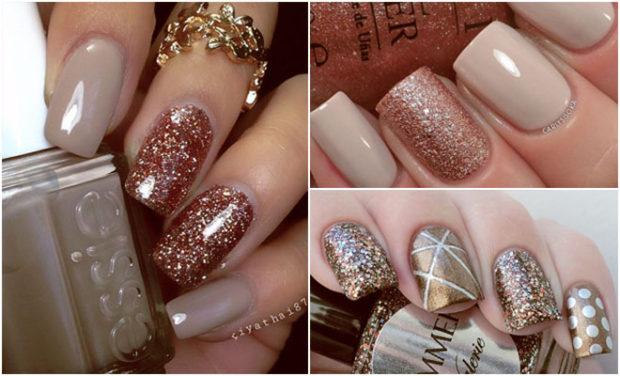 glitter bronce