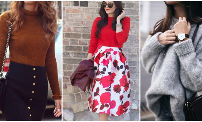 Cómo incorporar los suéteres a tu look