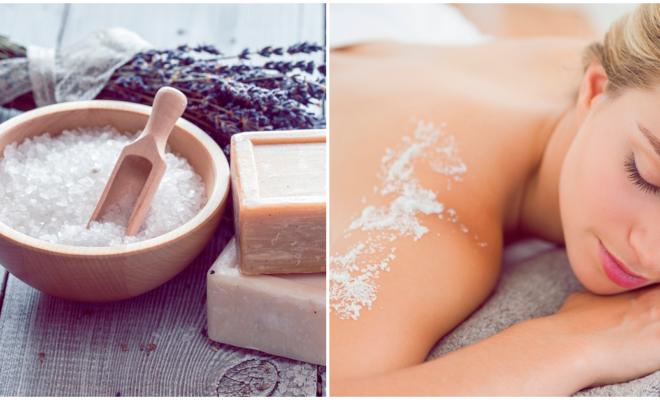 4 efectos maravillosos de la sal sobre tu belleza