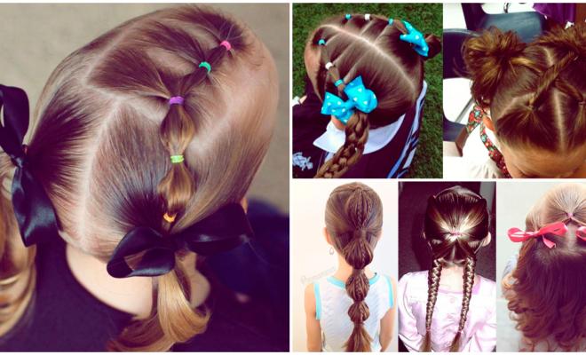 Peinados para que tu hija sea la más original