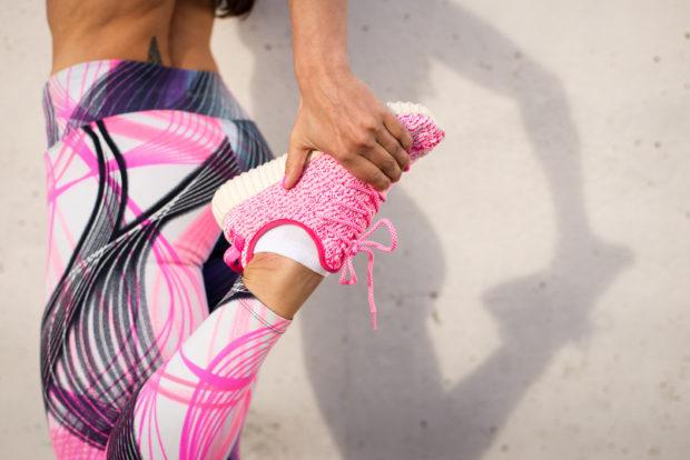 Ejercicio correr ropa deportiva