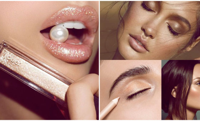 Makeup con shimmer para salir de noche