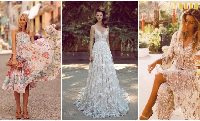 Los vestidos estilo romático más lindos