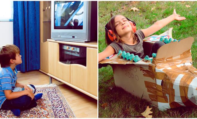 Cómo entretener a tu hijo fuera de la tele