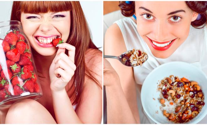 Alimentos con antioxidantes para lucir una piel hermosa