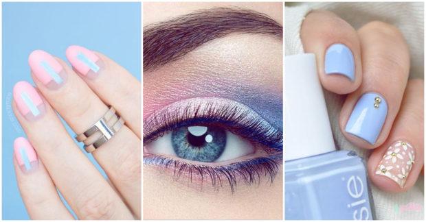 makeup azul