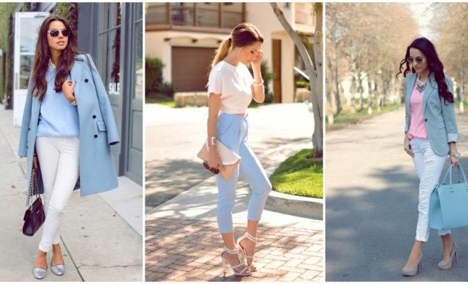 Las mejores formas de utilizar azul para estar a la moda