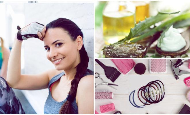 Cómo cuidar tu cabello antes y después de hacer ejercicio
