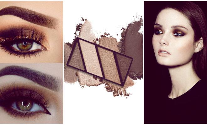 2 makeups diferentes con la misma paleta de sombras