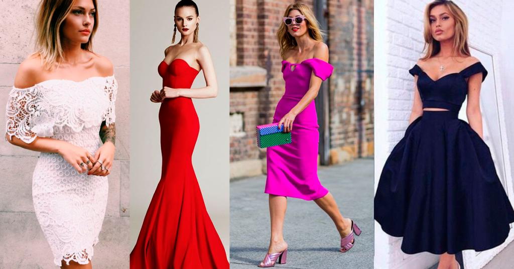 Los mejores vestidos strapless - Yo amo los zapatos