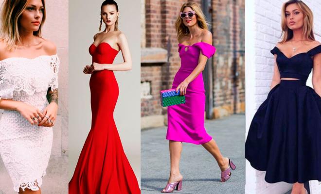 Los mejores vestidos strapless