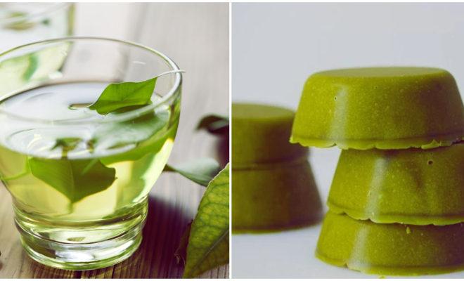 DIY Exfoliante corporal de té verde