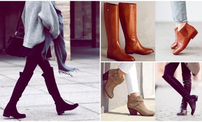 Las botas bajas con más estilo