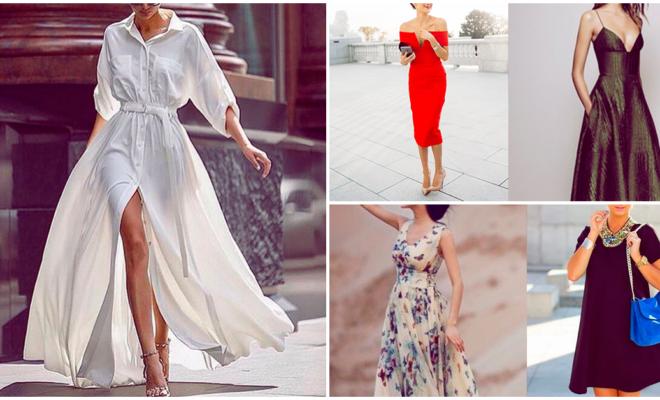 Los mejores vestidos para una mujer alta