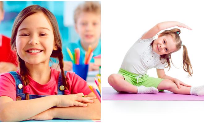 Las habilidades cognitivas en los niños mejoran con el ejercicio