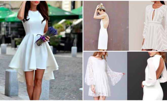 Un little white dress para cada ocasión