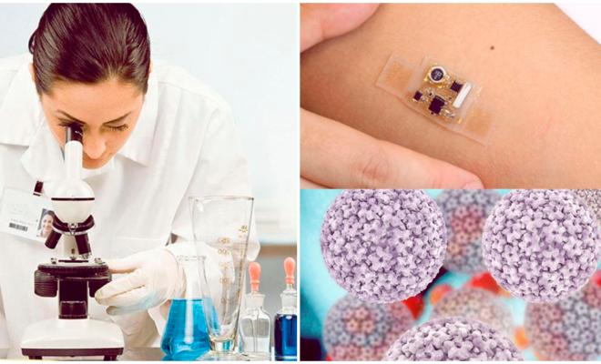 Sensor que detecta Virus del Papiloma Humano