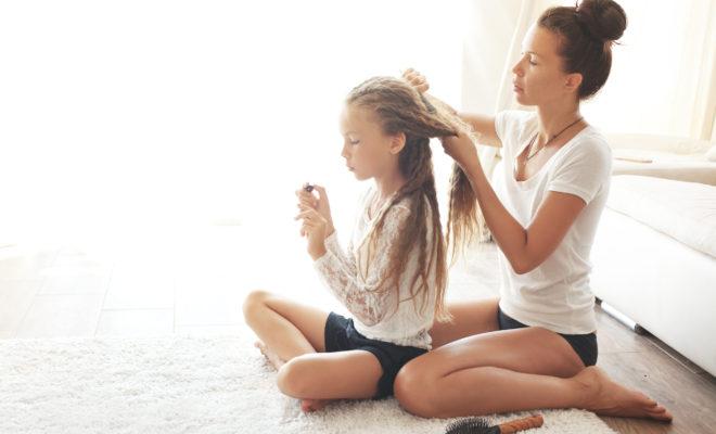 ¿Cómo cuidar el cabello de mis hijos?