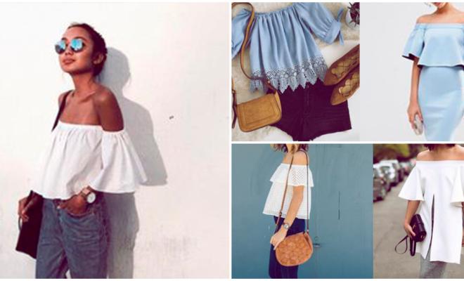 La mejor blusa of shoulder para verte a la moda