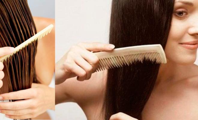 Cómo desenredar tu cabello sin sufrir de más