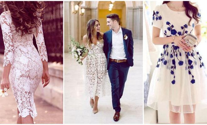 Las mejores opciones para vestir en tu boda civil