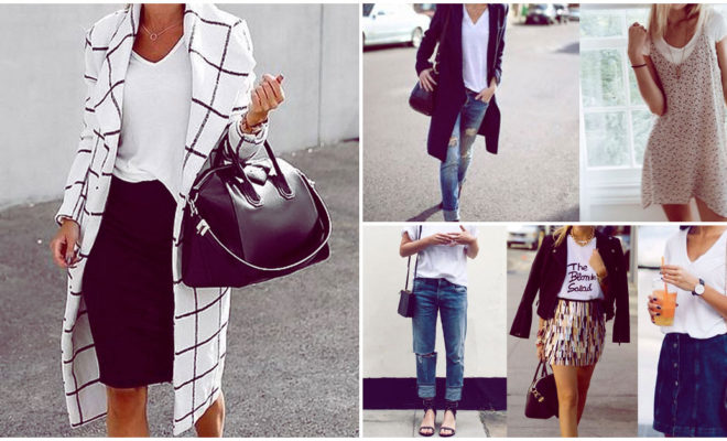 Cómo llevar una playera blanca según tu estilo