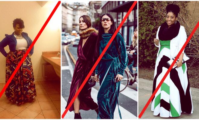 Errores de moda que agregan años