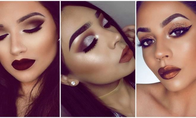 Inspiración de makeup invernal