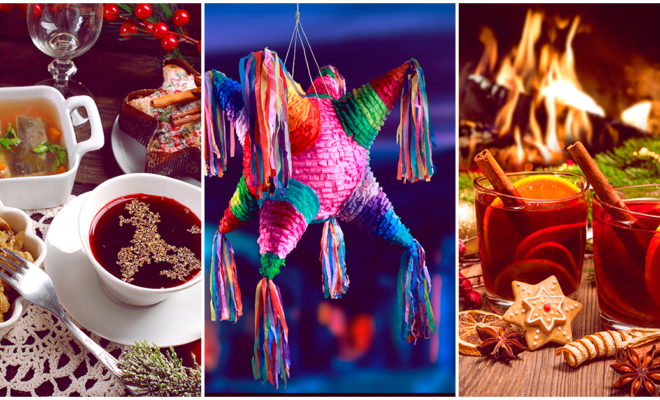 Diferentes tradiciones decembrinas en Latinoamérica