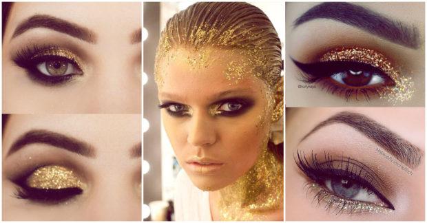 maquillaje-dorado-2