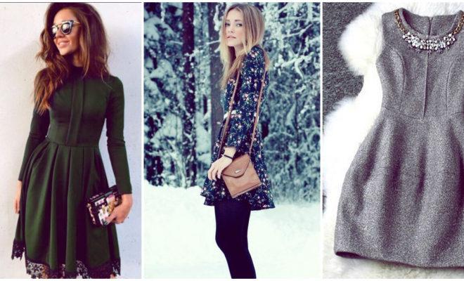 Vestidos invernales para cada ocasión