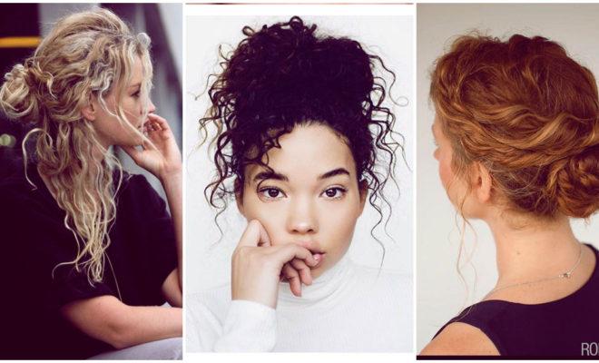Peinados para las chicas con rizos