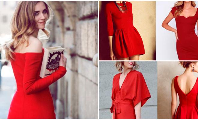 Los mejores vestidos rojos para la época navideña