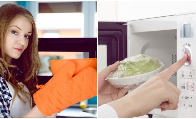 Recalentar en plástico en el microondas es peligroso