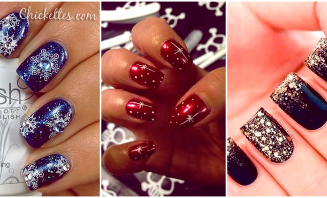 Los mejores diseños invernales elegantes para tus uñas