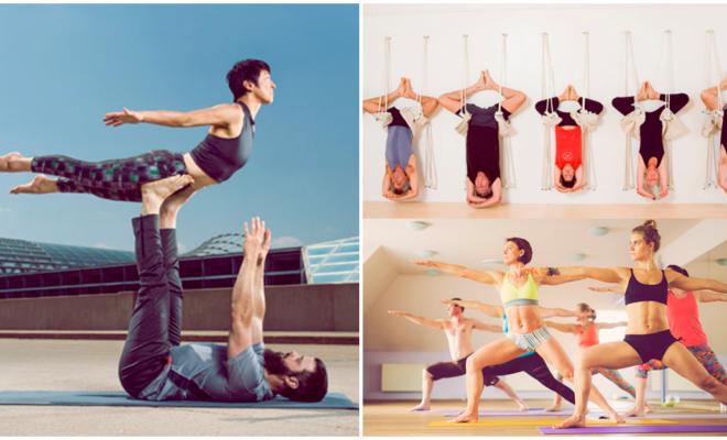 5 tipos de yoga que puedes practicar