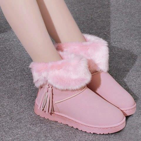 pink-booties