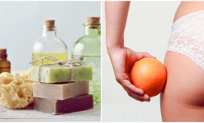 DIY Haz tu propio jabón contra la celulitis