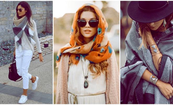 Las mejores pashminas para este invierno