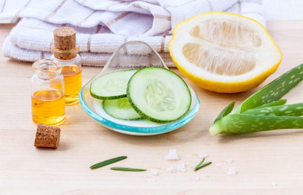 Natural Spa Ingredients cucumber homemade natural facial toner.